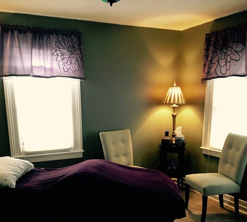Milford, CT Naturopath treatment room
