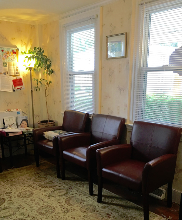 Milford, CT Naturopath waiting room